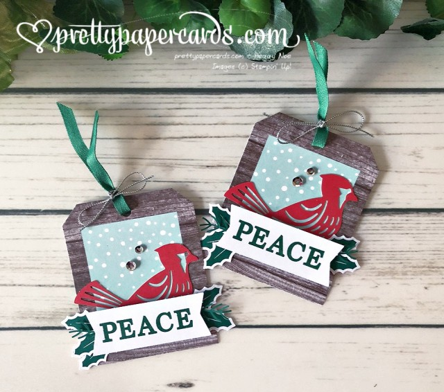 Stampin' Up! Christmas Gift Tags - Peggy Noe - stampinup