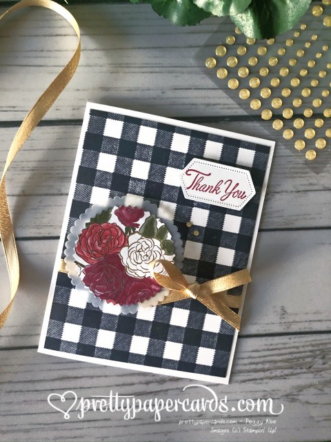 Stampin' Up! Christmastime Thank You - Peggy Noe - stampinup