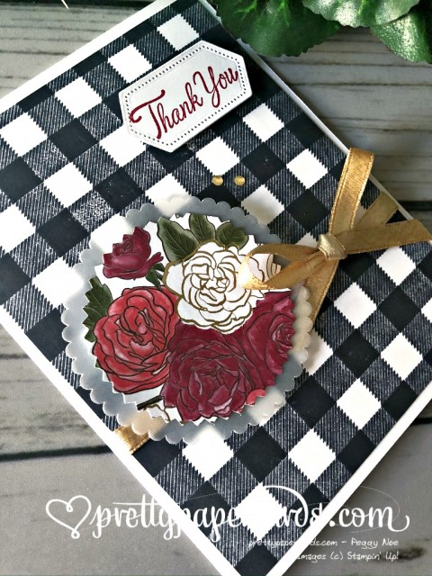Stampin' Up! Christmastime Thank You - Pretty Paper Cards - stampinup