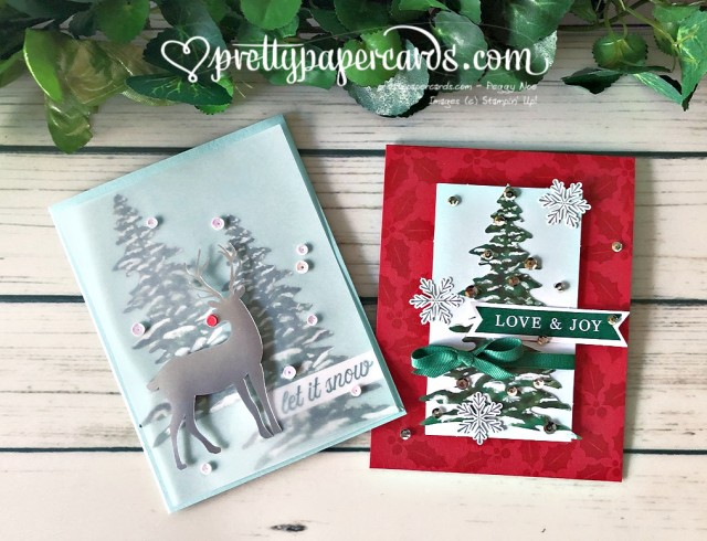 Stampin' Up! Holiday Cards - Peggy Noe - stampinup
