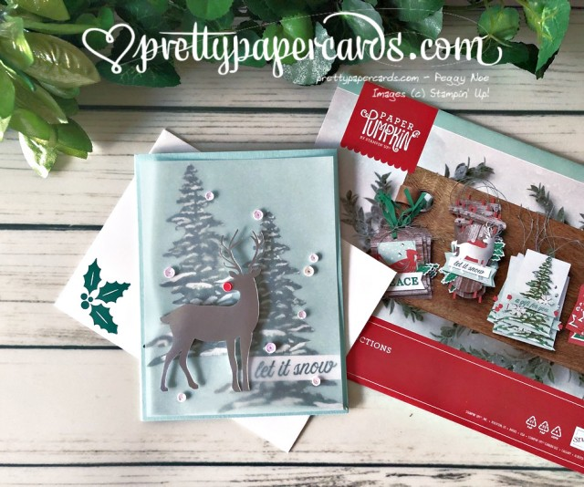 Stampin' Up! Nov Paper Pumpkin - Pretty Paper Cards - stampinup