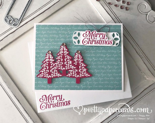 Stampin' Up! Perfectly Plaid Card - Peggy Noe - stampinup