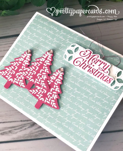 Stampin' Up! Perfectly Plaid - Pretty Paper Cards - stampinup