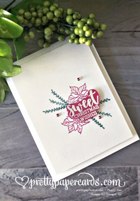 Stampin' Up! Simple Cup of Christmas - Pretty Paper Cards - stampinup