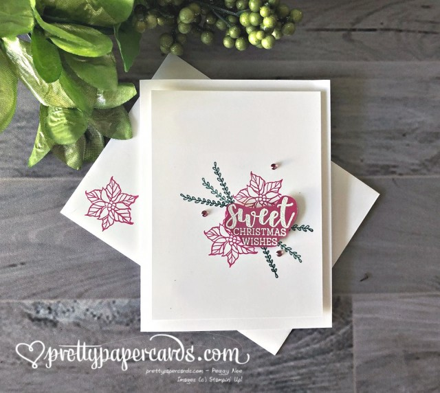 Stampin' Up! Sweet Christmas Wishes - Pretty Paper Cards - stampinup