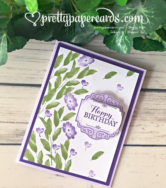 Birthday Card Layered with Kindness Pretty Paper Cards Stampin' Up!