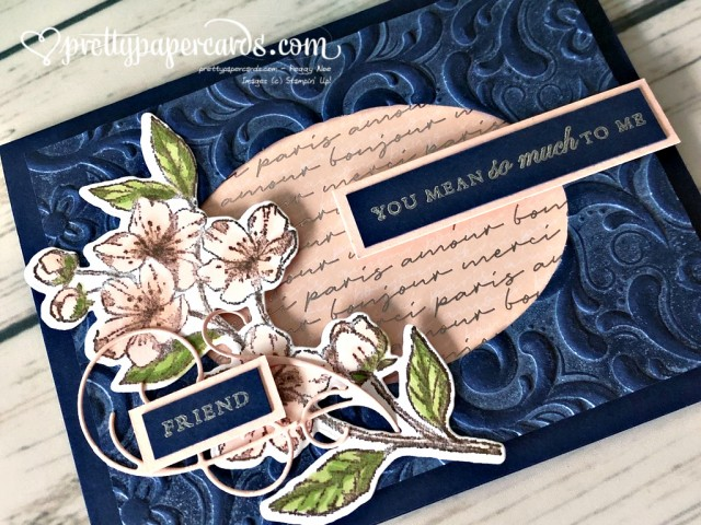 Stampin' Up! Forever Blossoms Card - Peggy Noe - stampinup