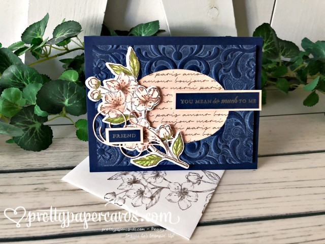 Stampin' Up! Forever Blossoms Friend Card - Pretty Paper Cards - stampinup