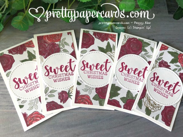Christmas Book Marks by Peggy Noe - Stampin' Up!