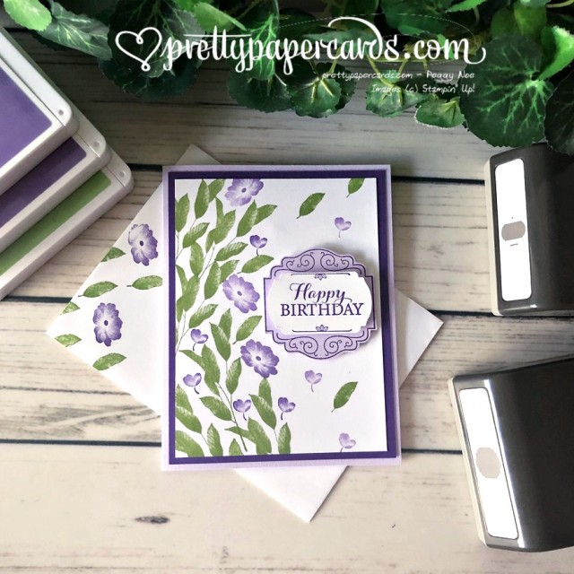 Layered with Kindness Birthday Card Peggy Noe