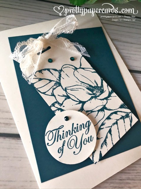 Magnolia Thinking of You Card - Peggy Noe - stampinup