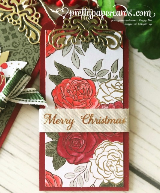 Stampin' Up! Christmas Tags - Peggy Noe - stampinup