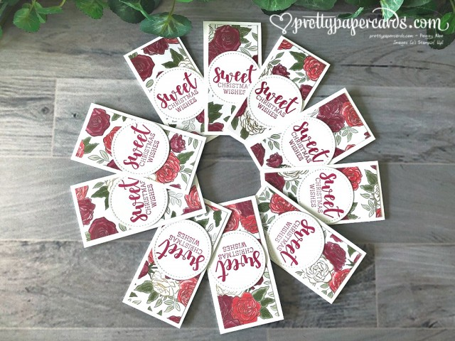 Stampin' Up! Christmastime Bookmarks by Peggy Noe
