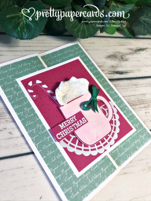 Stampin' Up! Cup of Christmas Card - Peggy Noe