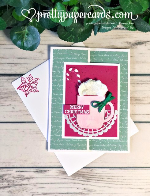 Stampin' Up! Cup of Christmas Card - Pretty Paper Cards