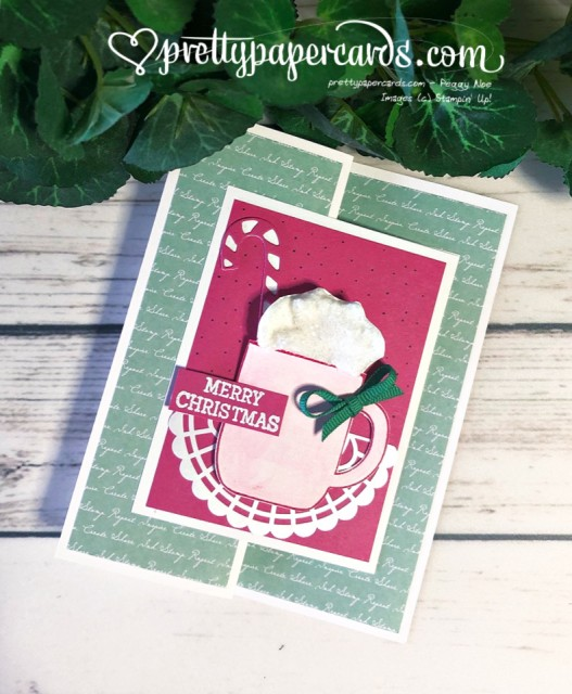 Stampin' Up! Cup of Christmas - Peggy Noe