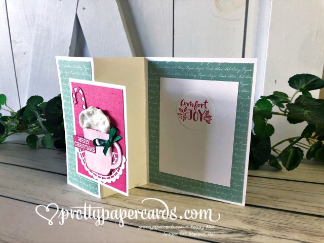 Stampin' Up! Cup of Christmas Z Fold - Peggy Noe
