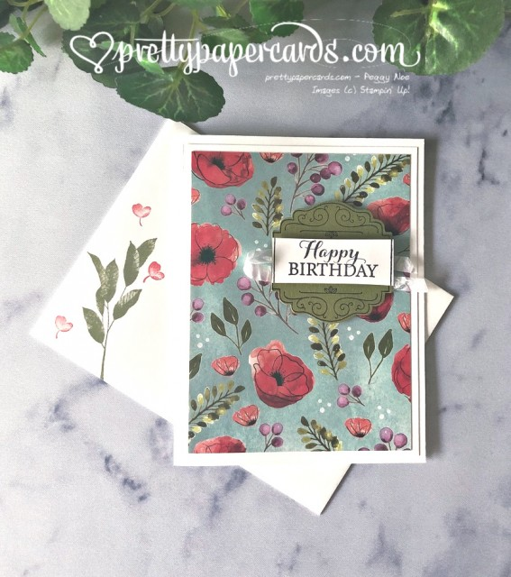Stampin' Up! Layered With Kindness - Peggy Noe