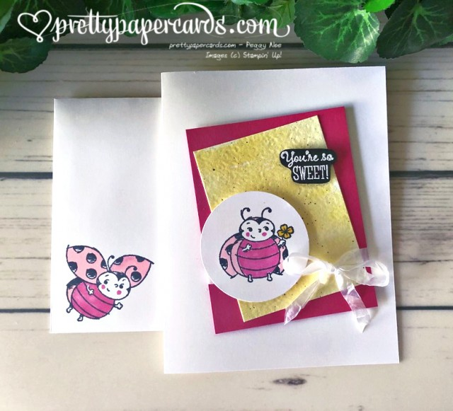 Stampin' Up! Little Ladybug - Pretty Paper Cards