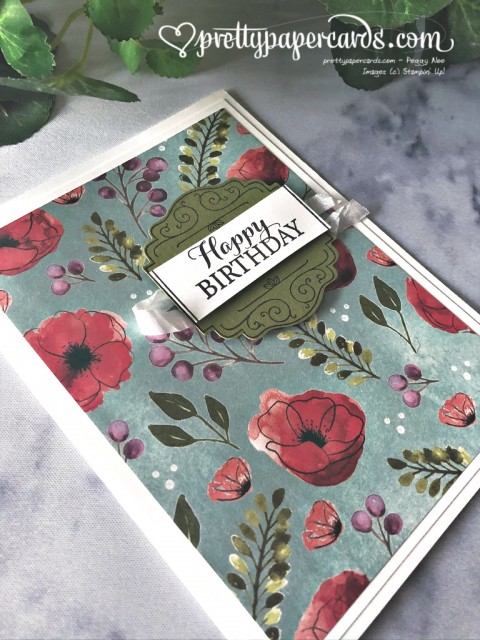 Stampin' Up! Peaceful Poppies - Pretty Paper Cards