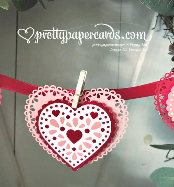 Valentine Paper Heart Peggy Noe