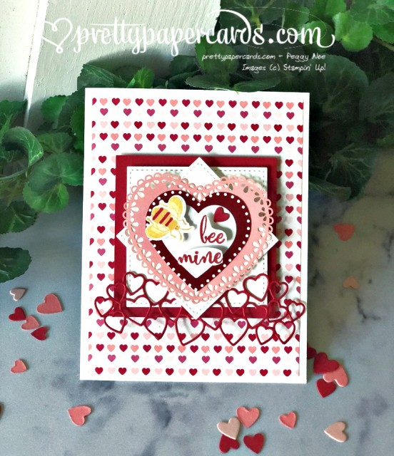 Bee mine Valentine by Peggy Noe