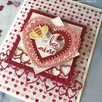 From My Heart Valentine Card by Pretty Paper Cards