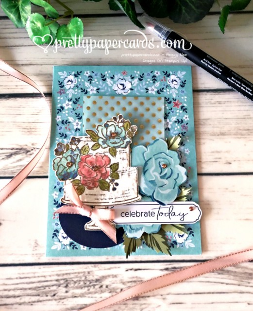 Happy Birthday Kerchief Card Stampin' Up! Peggy Noe