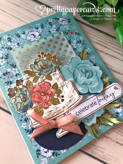 Happy Birthday to You Stampin' Up! Pretty Paper Cards