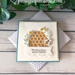 Honey Bee Card Stampin