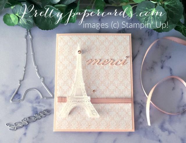 Parisian Beauty Merci Card created by Peggy Noe