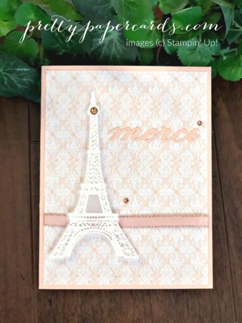 Parisian Beauty Thank You by Peggy Noe