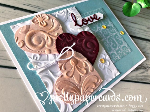 Parisian Flourish Stampin' Up! by Peggy Noe
