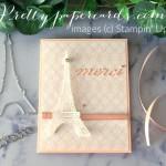 Parisian Merci Card by Peggy Noe
