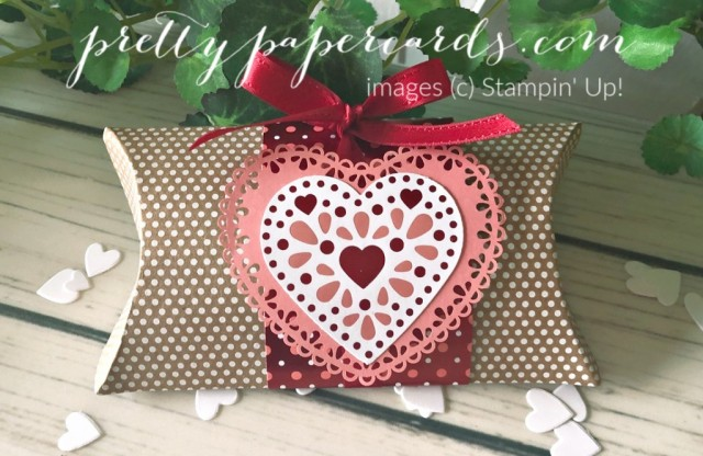 Pillowbox Valentine by Pretty Paper Cards