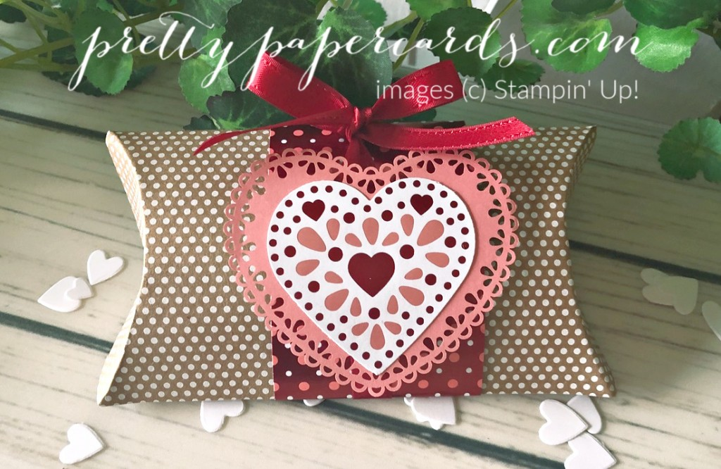 Valentine Pillow Box for Facebook Live Today!