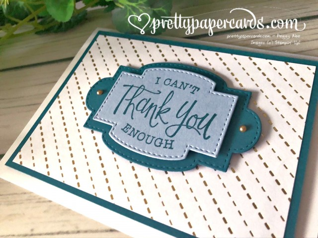 So Sentimental Card Stampin' Up! Pretty Paper Cards
