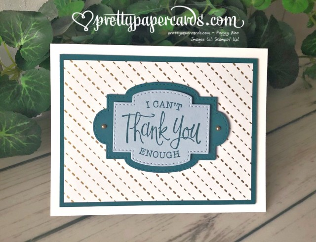 So Sentimental Suite by Stampin' Up! created by Pretty Paper Cards