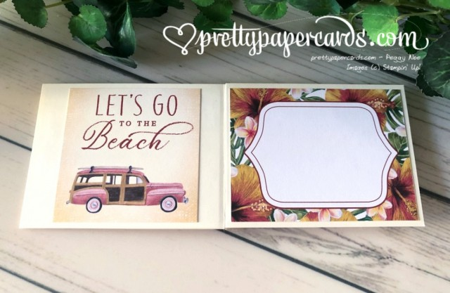 Tropical Oasis Birthday stampinup by Peggy Noe