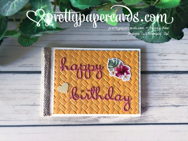 Tropical Oasis stampinup by Peggy Noe