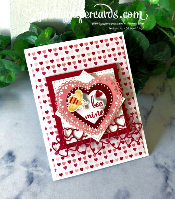Valentine Card by Peggy Noe