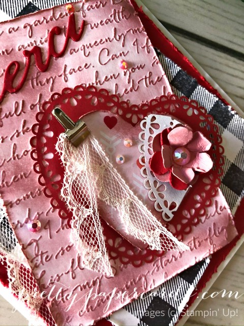 Very Vintage Thank You Card by Pretty Paper Cards
