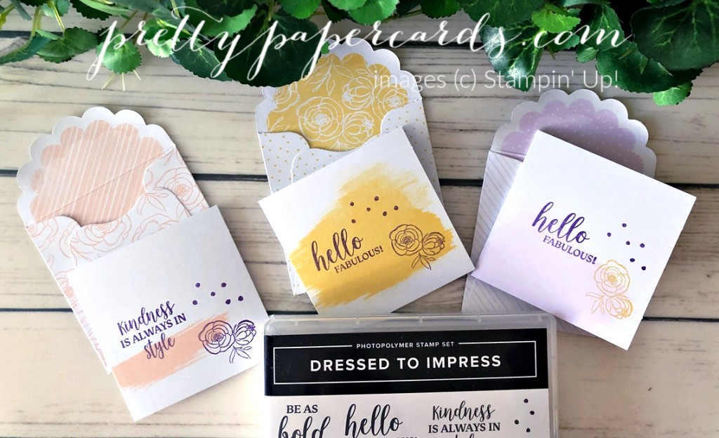 Dressed to Impress Adorable Note Cards!