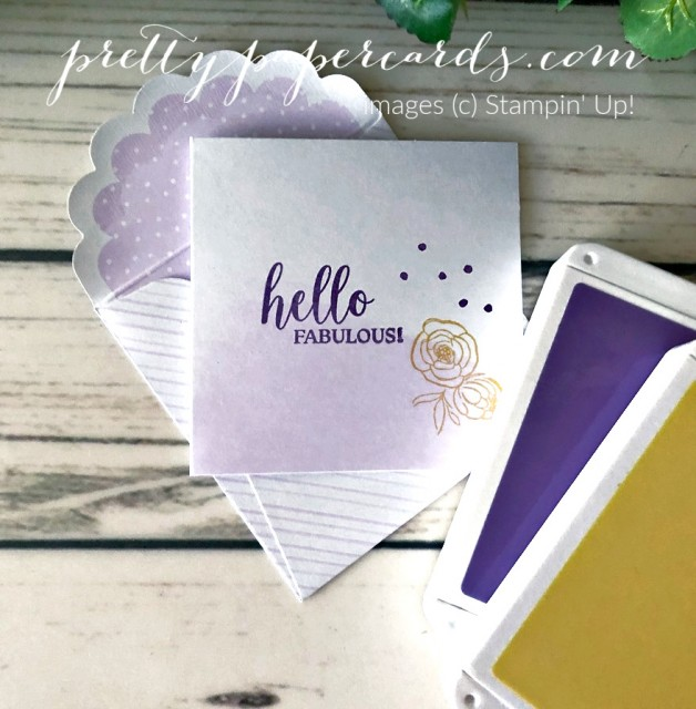 Best Dressed Stampin' Up! Pretty Paper Cards