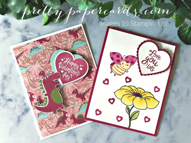 Children's Valentines Stampin' Up! by Peggy Noe