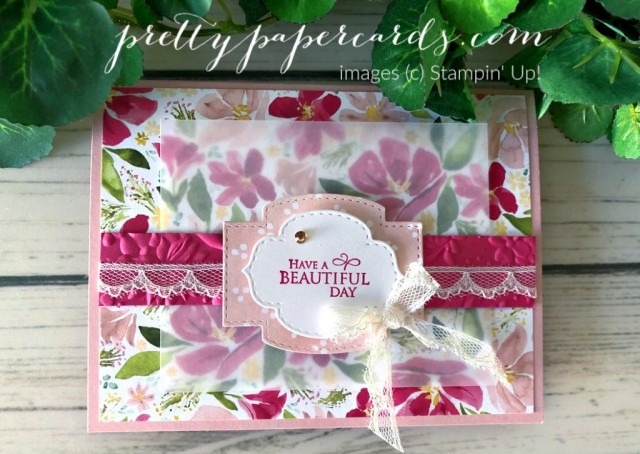 Dressed to Impress Beautiful Day Card by Peggy Noe