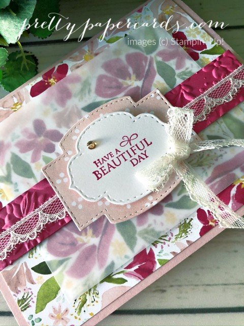 Dressed to Impress Beautiful Day Card by Pretty Paper Cards