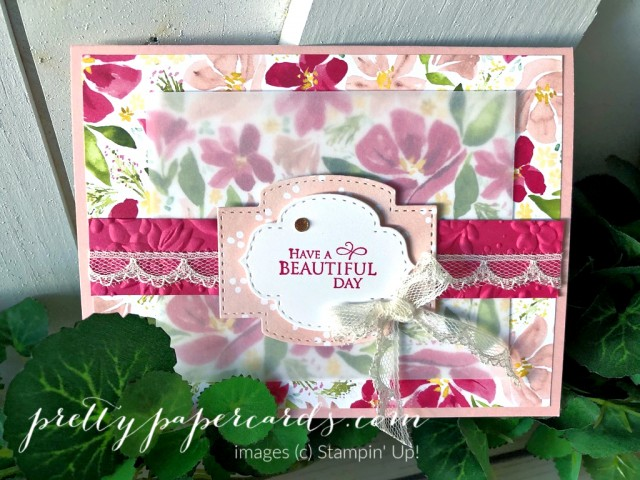 Dressed to Impress Beautiful Day by Pretty Paper Cards