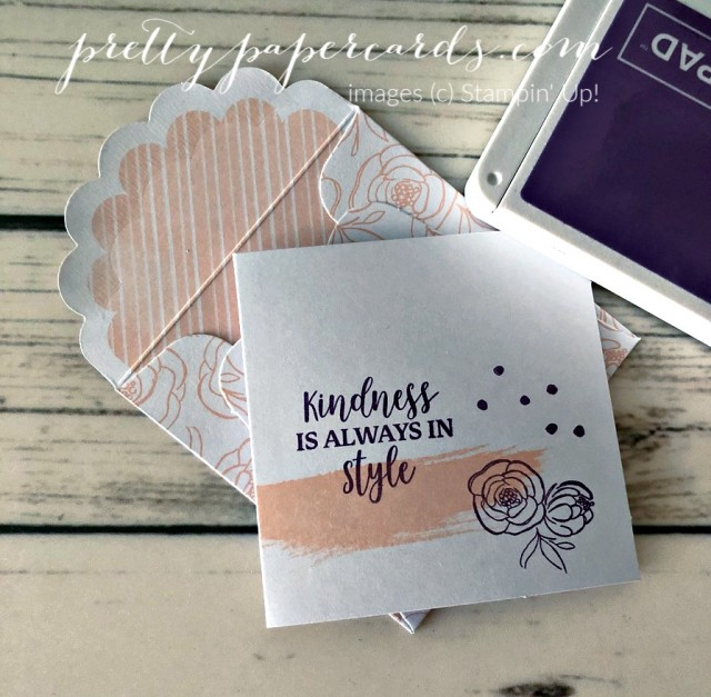 Dressed to Impress Stampin' Up! Pretty Paper Cards