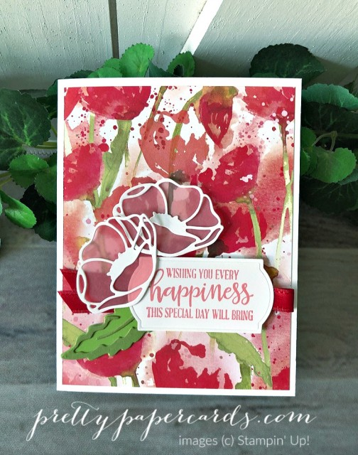 Every Happiness Peaceful Moments Card Stampin' Up! by Peggy Noe